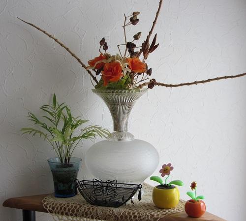 手作りの花瓶